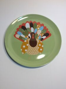 Thanksgiving Turkey Plate Pottery Barn Kids 10 Inch