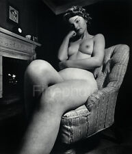 1950's Vintage SURREAL FEMALE NUDE Woman England Photo Gravure Plate BILL BRANDT