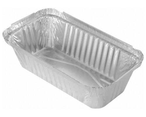 Alu Servierschale Aluschale Auflaufschale Lasagne Pasta 690ml 201x109x49mm