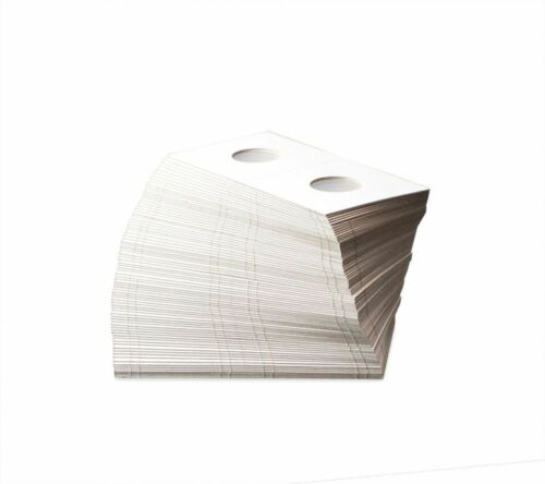 PENNY // CENT 19  MM 300 Flips of BCW PAPER FLIPS 2X2 3 Bundles