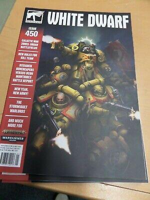 Warhammer White Dwarf Magazine Issue 450