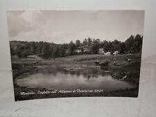 Vecchia cartolina foto d epoca di MONTELLA Laghetto Altipiano Vertelia 1965 da
