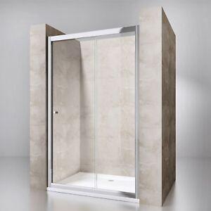 Details zu Nischentür Dusche Duschwand Schiebetür Duschtür ESG Lotus-Effekt