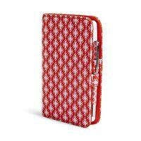 Vera Bradley Fabric Journal In Petite Paradise Red
