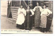 CP 69 RHÔNE - Lyon - Exposition Internationale 1914 - Types et Costumes Russes