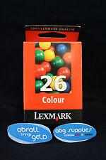 ORIGINAL Lexmark 26 Druckerpatrone (10N0026E) - NEU - OVP