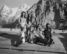"On Her Majestys secret service Girls James Bond 007 10"" x 8"" Photograph no 1"