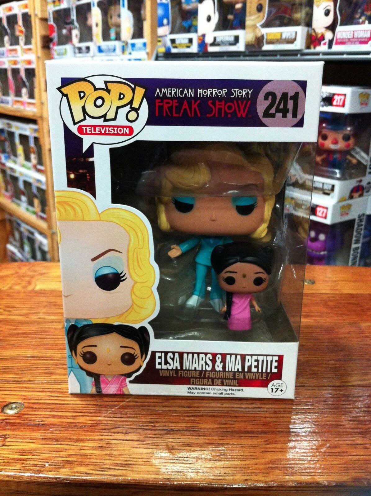 Pop TV American Horror storia Elsa  Mars e Ma Petite 241 diverdeimentoko Pop Vinyl  miglior prezzo migliore