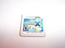 Pokemon X (Nintendo 3DS) XL 2DS Game