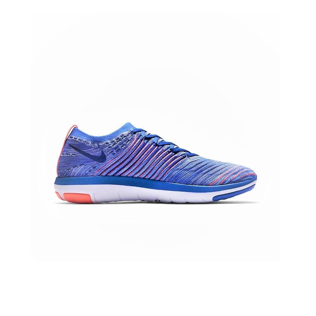 femmes NIKE FREE Running TRANSFORM FLYKNIT Medium Bleu Running FREE Trainers 833410404 a26bbd