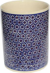 Polish Pottery Utensil Jar from Zaklady Ceramiczne Boleslawiec GU832/120