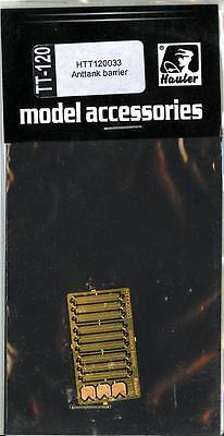 Hauler Models 1//87 ANTI-TANK BARRIERS Photo Etch Set