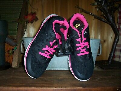 BLACK PINK CASUAL SNEAKERS LACE UP