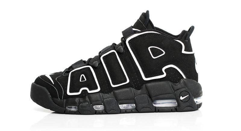 Nike Nike Nike air mehr uptempo - schwarz - og 11.414962-002 jordan, pippen kobe e03f24