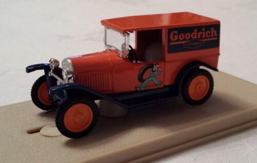 """Citroen Camionnette 200 Kilos 5CV /""""Goodrich/"""" -OVP Vintage Eligor 1//43 1011"""
