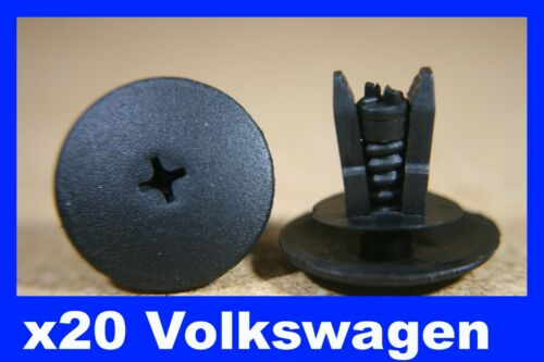 For Volkswagen 20 bumper door card fascia trim panel fastener clips