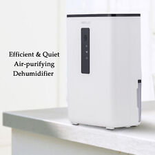 Portable Dehumidifier with UV Light for Home, Basement, A Room, Ultra-Quiet New
