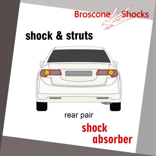 For Volkswagen Beetle 98 99 00 01 02 03 04 05 06 07 08-10 Rear Pair Shock Struts