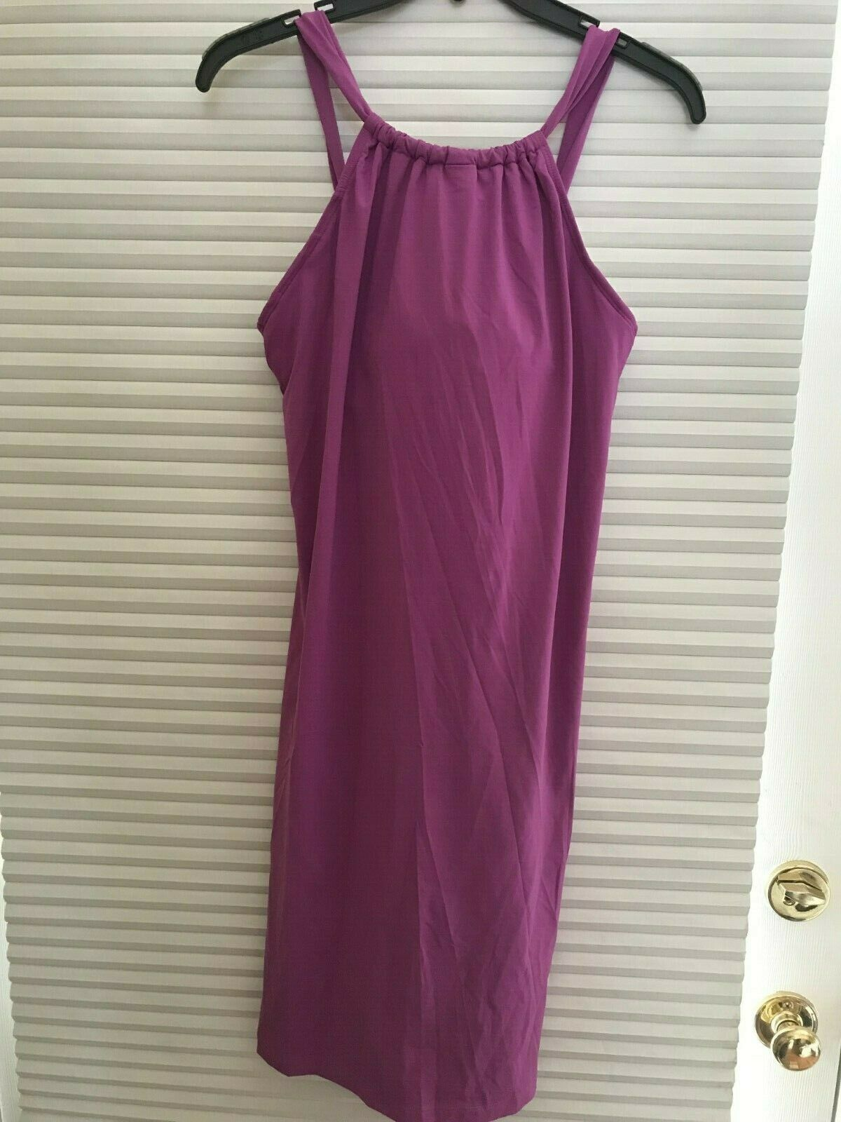 NWOT Athleta Kokomo Dress, Purple SIZE M                         N0221