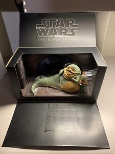 Star Wars Black Series Jabba the Hutt Throne Room SDCC 2014 Sealed Not Complete