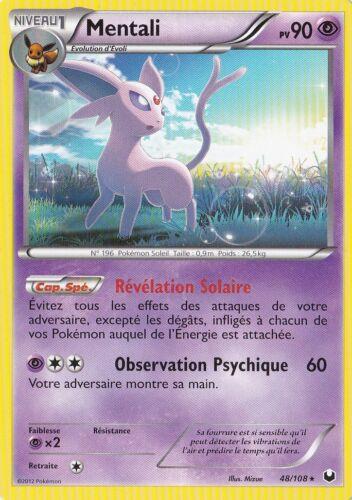 Carte Pokemon Neuve Française 48//108 Mentali NB05:Explorateurs Obscurs