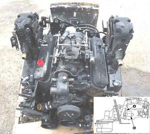 mercury mercruiser marine engines gm 350 305 v8 service manual rh ebay com