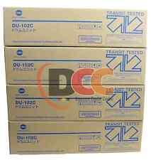 Lot of 4 KONICA MINOLTA Bizhub PRO C6500 C5500 C6501 C5501 DU102C DRUM UNIT