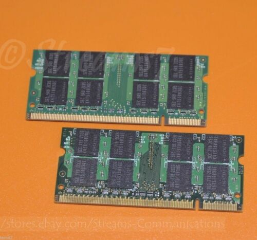 4GB DDR2 2x2GB Laptop Memory for TOSHIBA Satellite L505D-S5965 Notebook PC