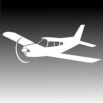Piper PA-28 Arrow Aircraft Decal PA 28 Cherokee Light Airplane Sticker
