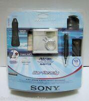 Sony Walkman NetMD MZ-N510CK MP3 Atrac MiniDisc Recorder & Player accesories NEW