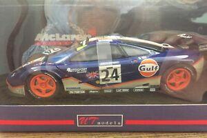 Responsable Ut 1/18 151824 Mclaren F1 Gtr #24 Gulf Bellm-blundell-sala 24h Le Mans 1995 AgréAble En ArrièRe-GoûT