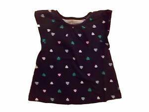 NWT-Girl-039-s-Gymboree-Hop-n-039-Roll-heart-blue-short-sleeve-shirt-18-24-months-2T-5T