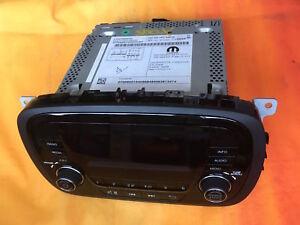 Codice Radio Fiat 500.Dettagli Su Fiat 500 X Uconnect Radio Cod 735605104 Con Codice Di Attivazione