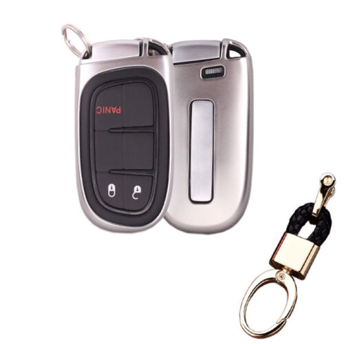 tpu smart Key Fob Case Cover For Jeep Grand Cherokee Renegade Chrysler 300 200