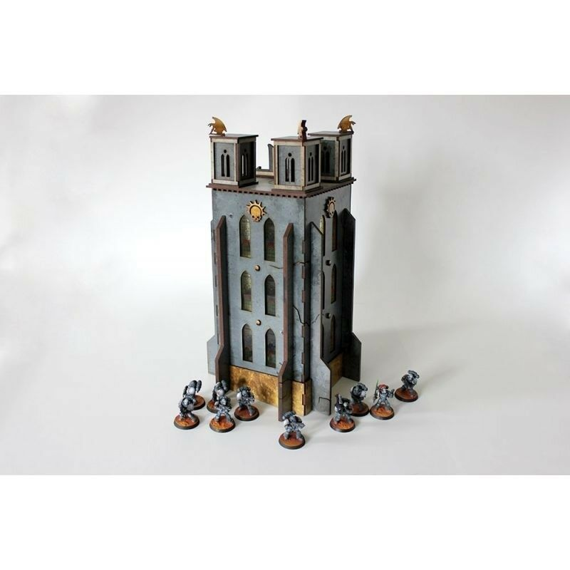 The Bell Of Souls Tower Bandua Wargames Warhammer 40,000 Brand New