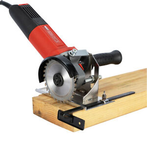 Electric-Angle-Grinder-Cutter-Support-Bracket-Holder-Stand-Dock-Cast-Iron-Base