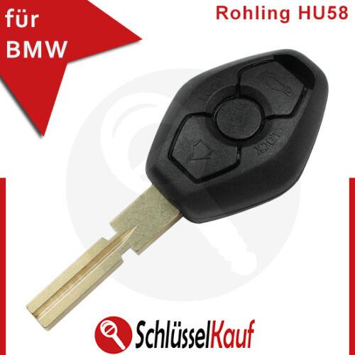 1x lir2025 Clés de voiture hu58 3x Palpeur Convient Pour BMW e46 e39 e60 m3 z4 x3