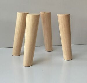 Wooden Furniture Legs Mid Century Retro Scandinavian