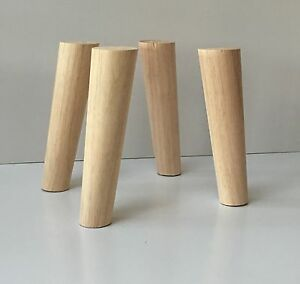41 - Angled Wood Table Legs/Rustic Wood Furniture Feet 41 ... | furniture feet wood