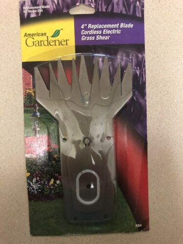 "American Gardener 4/"" Replacement Blade RB4 NOS"