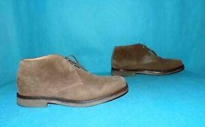 bottines desert boots GEOX claudio en daim beige pointure 41 fr
