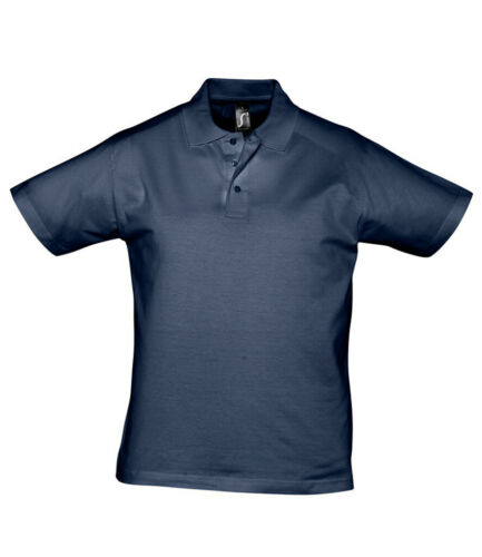 Details about  /SOLS Cotton Jersey Smooth Knit Polo Shirt T-Shirt with Collar S 3XL