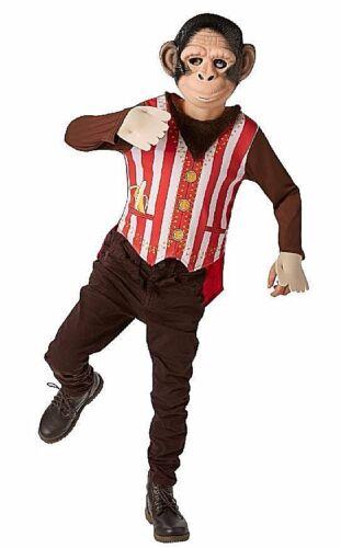 SIGNOR Bambino Scimmia Costume Giornata Mondiale del Libro della Giungla Animale Zoo Età 3-8