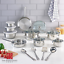 Cookware-Set-Non-Stick-Stainless-Steel-10-18-Piece-Pieces-Pots-and-Pans thumbnail 9