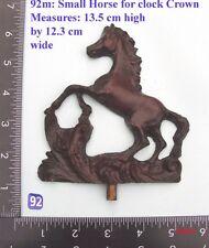 """92M """"Small Horse"""" clock case / furniture DIY"""