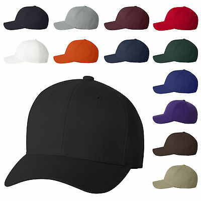 FedEx Home Delivery Flexfit Hat Cap Structured Wool Blend 6477 Black S//M