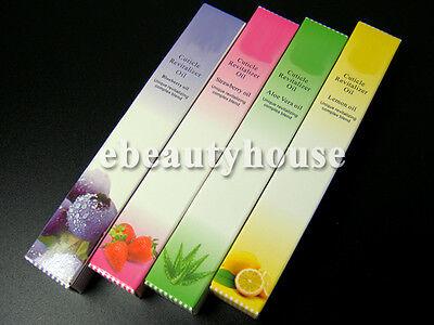 4 PCS Revitalizer Cuticle Oil Pen Brush Nail Art Care Treatment #086X-02