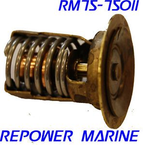 Details about Thermostat for Mercury Outboard, 2 Stroke 40 HP, 50 HP, 60 HP  replaces 850055001