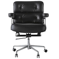 Gaming Racing Genuine Leather Chair Ergonomic Computer Desk Eams Office Seat