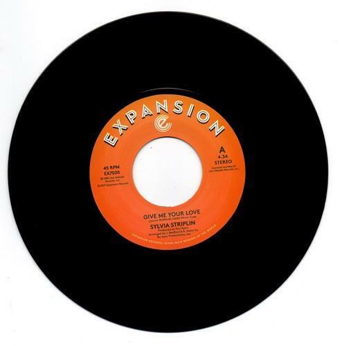 SYLVIA STRIPLIN Give Me Your Love / You Can't NEW MODERN SOUL 45 (EXPANSION) 80s